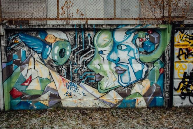 забор, индустриальный колледж,граффити, петрозаводск, фото, стрит арт, уличное искусство, карелия