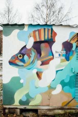 трансформаторная будка, набережная, граффити, петрозаводск, фото, стрит арт, уличное искусство, карелия