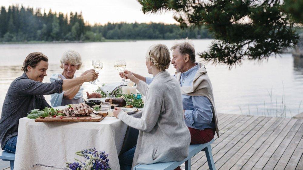ужин в финляндии