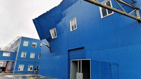 Взрыв на заводе в Орловской области