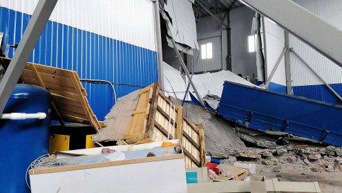 ¬зрыв на заводе резиновых изделий в ќрловской области
