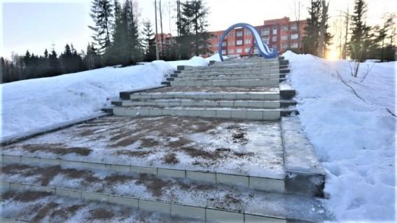 Сувилахти лестница