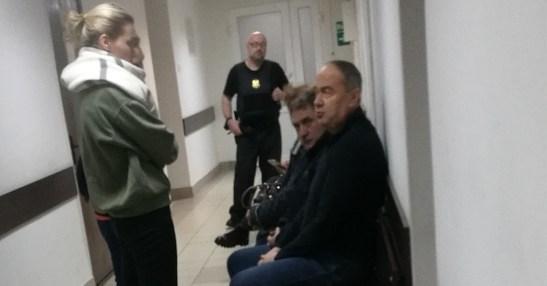 Алексей Кайдалов в коридоре суда. Фото: Сергей Мятухин / «Губернiя Daily»