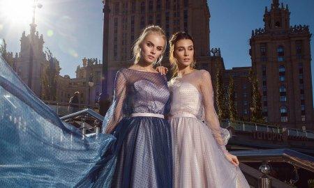 выпускное платье, розовое, синее, в пол, платье на выпускной, бил, выпускница, наряд, купить, петрозаводск, студия, ле рина, le rina