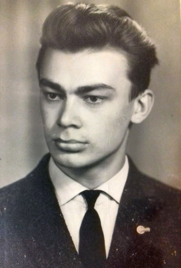 мужчина ретро молодой