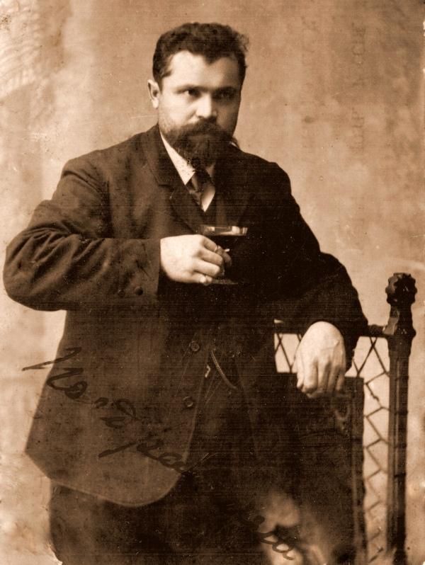 ретроснимок молодой мужчина