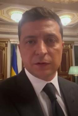Фото: скриншот видео с Зеленским