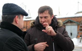 Владимир Лабинов и Сергей Щебекин во время посещения ОМК. Фото: «Губернiя Daily»