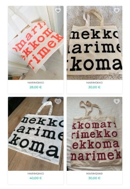 сумки меримекко