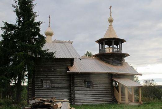 Часовня в деревне Маньга. Фото: monuments.karelia.ru