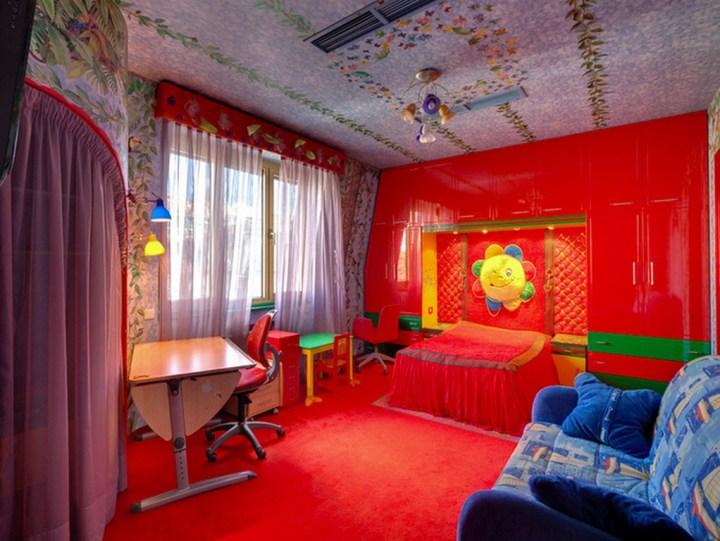 интерьер, детская, комната