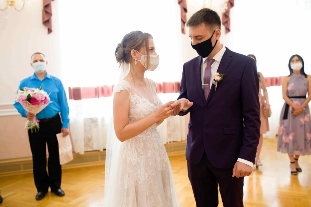 свадьба маски