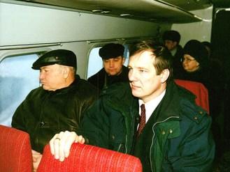 Юрий Лужков и Сергей Катанандов в 1998 г. Фото: пресс-служба правительства Карелии