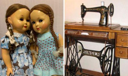куклы машинка швейная