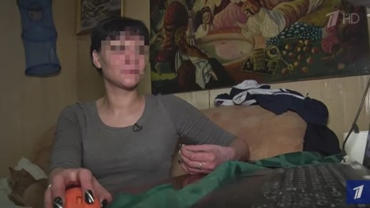Оксана, жена задержанного