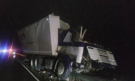 ДТП с грузовиком
