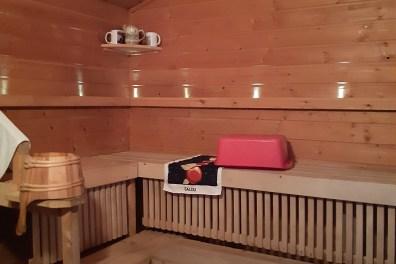 финская сауна в частном доме