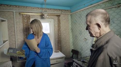 Виктор Мохов и Ксения Собчак у маньяка дома