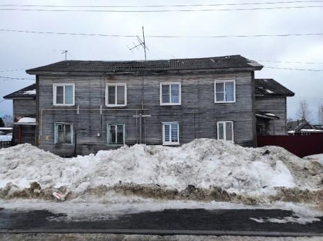 Деревянный дом в Петрозаводске