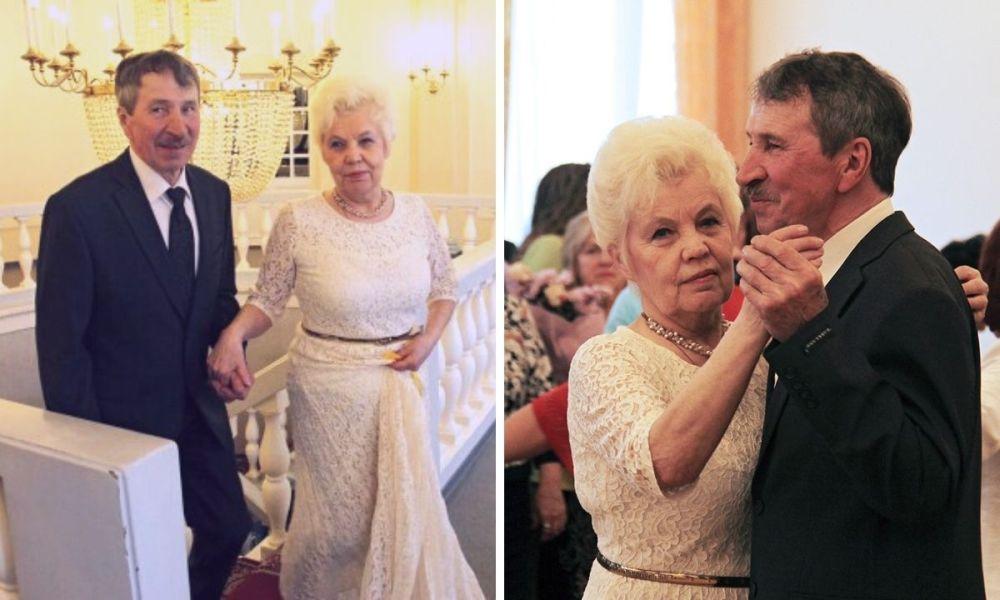 Галина Карасова с мужем
