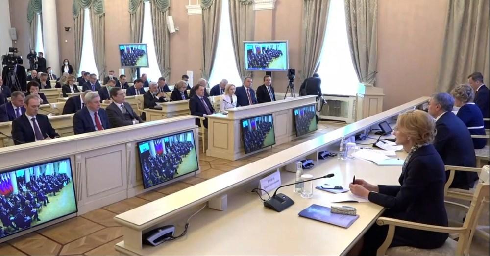 Совет законодателей России Татьяна Голикова