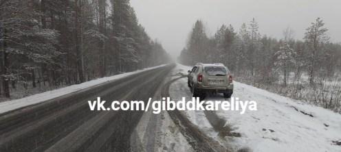 ДТП в Сегежском районе Карелии
