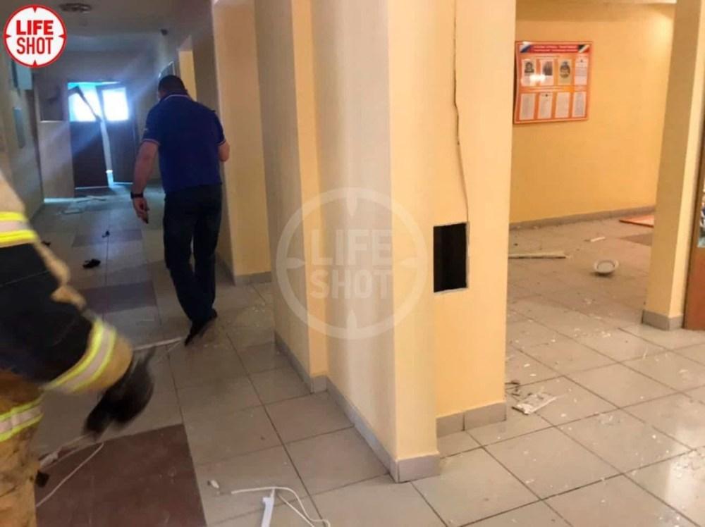 Один из кадров внутри школы после нападения. Телеграм-канал Life Shot
