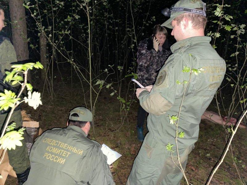 следователи осматривают место преступления