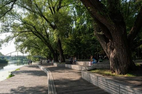 Набережная Везёлки, Белгород