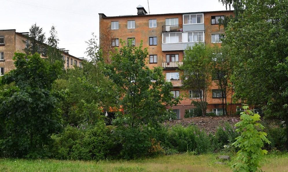 На месте снесенных домов на аллее 300-летия Петрозаводска появится новый ЖК
