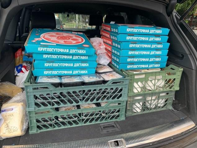кареля пожар, волонтеры, тик тайм, пицца