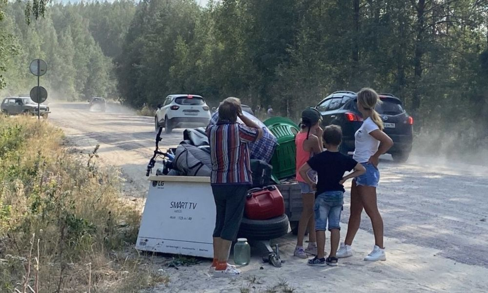 эвакуация Карелия