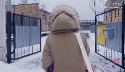 Олеся Сергеенко идет в колонию