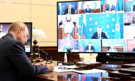 Парфенчиков пообещал Путину справиться с пожарами к субботе, но попросил выделить 100 миллионов рублей