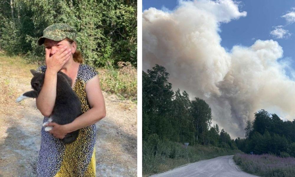 пожар, Карелия, Найстенъярви