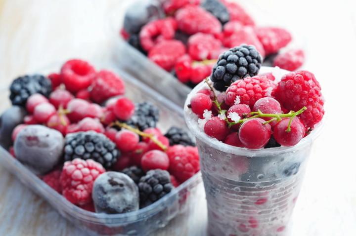 ягоды, заморозка, холод