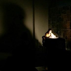 PEREMPUAN MEMBACA KARTINI (Dramatic Reading) 2017, sutradara Irawita Gudang Sarinah Ekosistem bekerjasama Teater Perempuan Komunitas Paseban. (foto: @69performanceclub)
