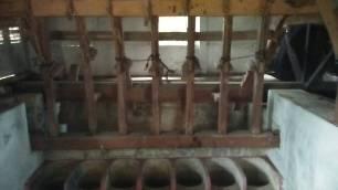 Alu dan Lasuang, bagian dari komponen kincir penumbuk padi atau kopi