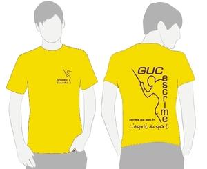 Boutique GUC Escrime, Tshirt coton