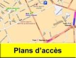 Plans d'accès Escrime, Grenoble, Brié, Vizille, Jarrie, Champagnier, Herbeys, Bresson, Vaulnaveys