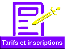 Tarifs inscriptions GUC Escrime
