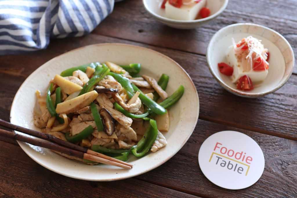 【レシピ】食感が楽しい!ざく切り青椒肉絲