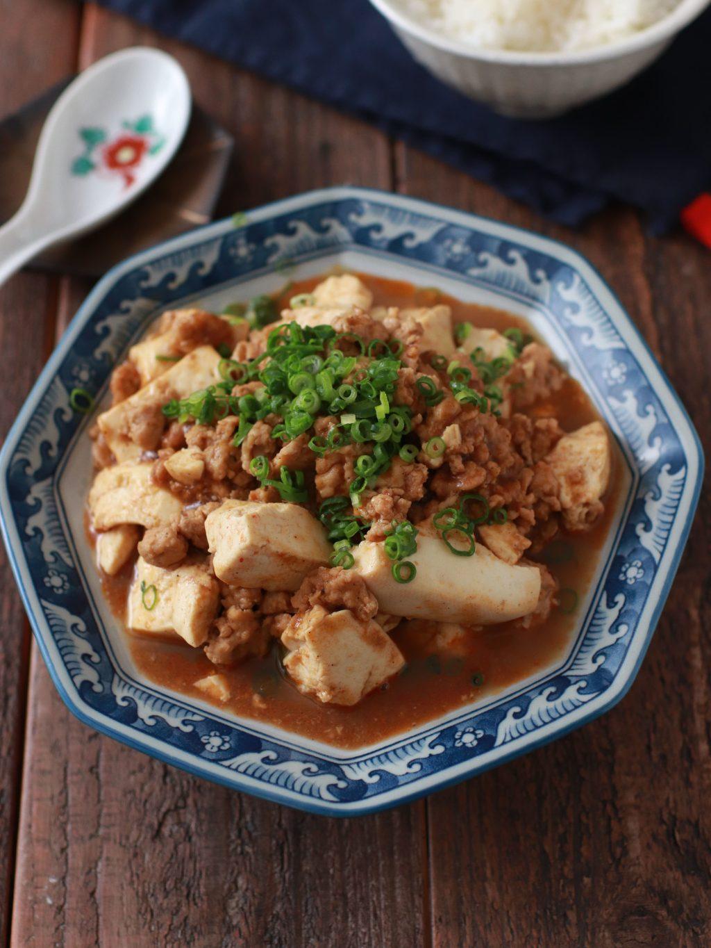 【レシピ】鶏ひき肉の麻婆豆腐
