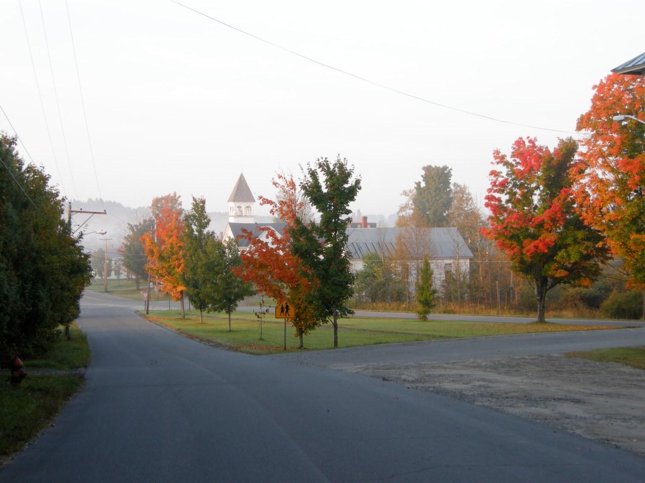 2008 – Fall foliage in town