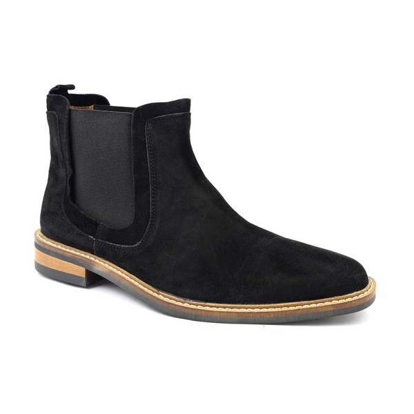 Find Black Suede Chelsea Boots Mens Style Gucinari
