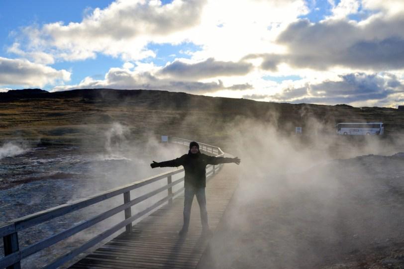 Potrete camminare nelle aree geotermiche più attive del pianeta