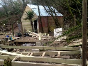 The shed at Wild Woods