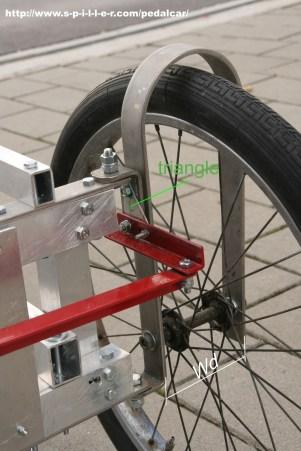 4 Wheel Bike front wheel