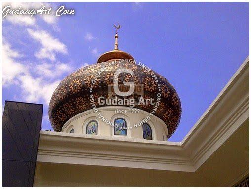 Kubah Masjid - Kerajinan Kubah Tembaga
