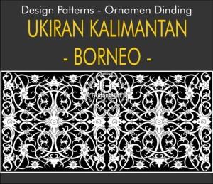 Seni Ukiran Motif Kalimantan Tengah